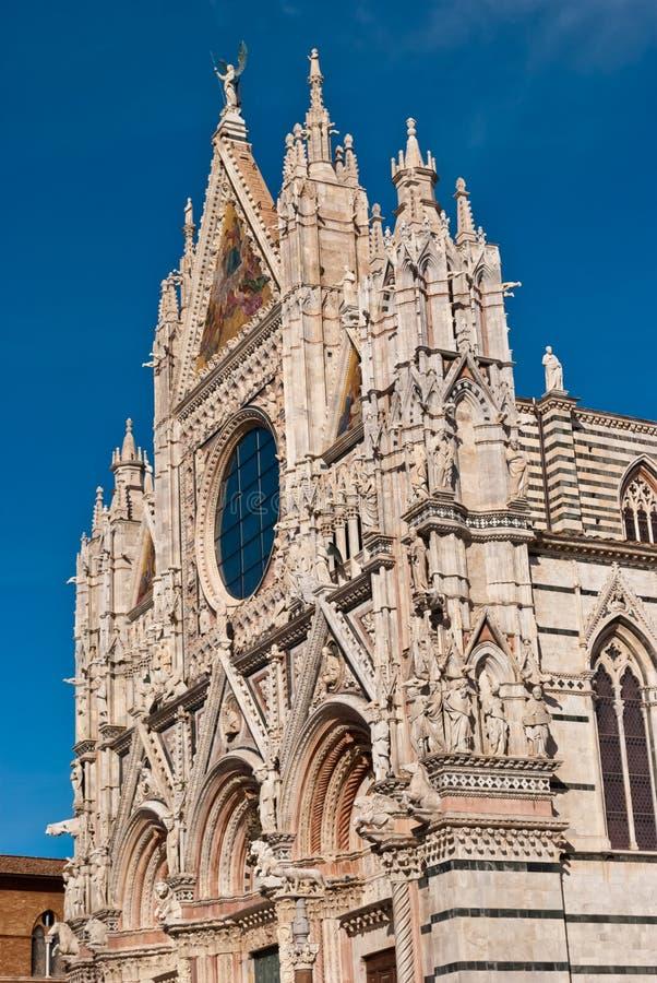 Siena katedra, Tuscany zdjęcia stock