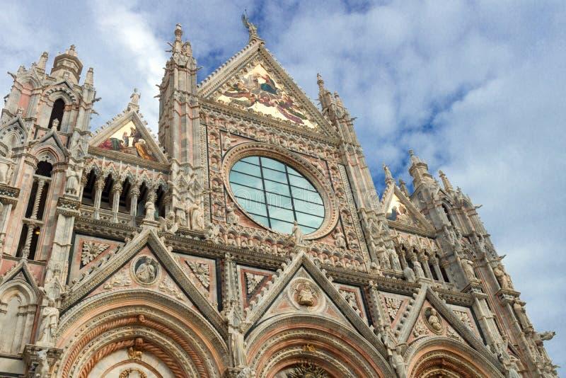 Siena kathedraal in Italië royalty-vrije stock foto