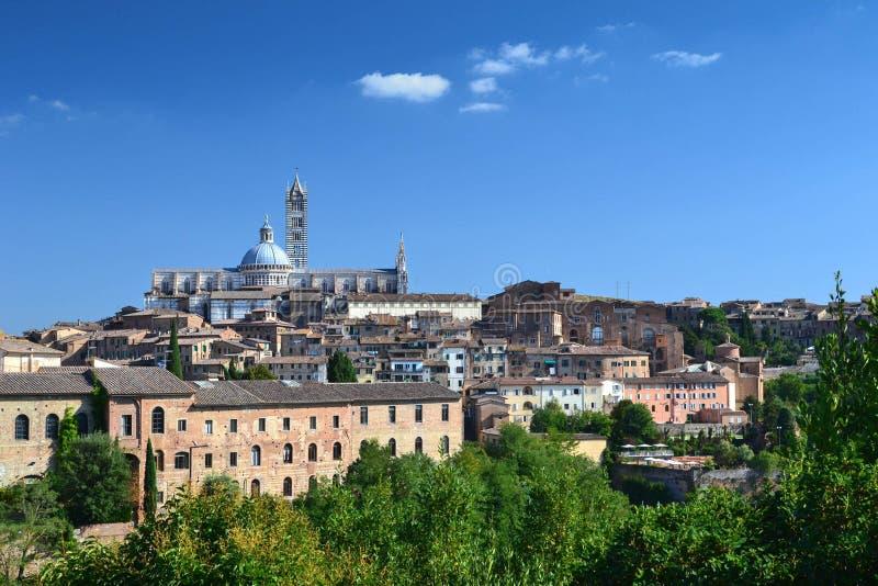 Siena Kathedraal, Italië stock foto