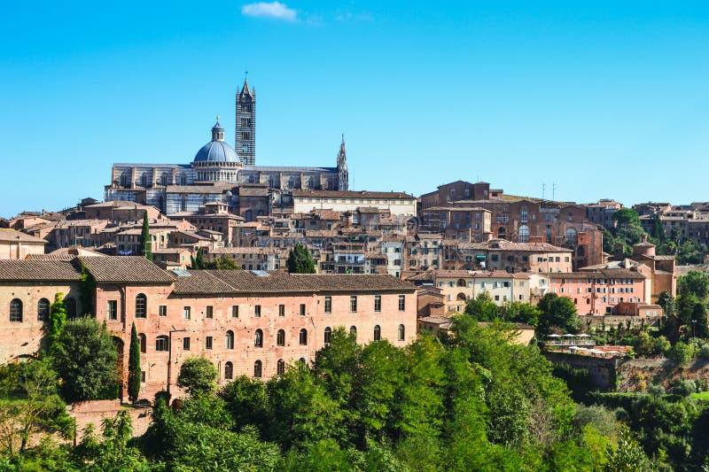 Siena Kathedraal, Toscanië, Italië stock afbeelding