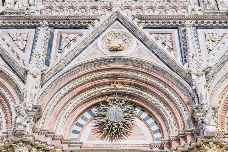 Siena-Kathedrale, Toskana, Italien stockfotografie