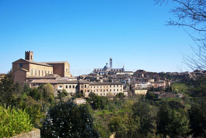 Siena - l'Italia fotografie stock