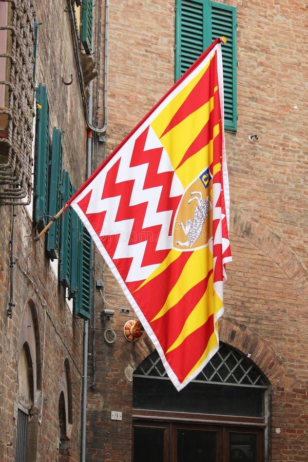 Siena Old Town fotografia de stock royalty free
