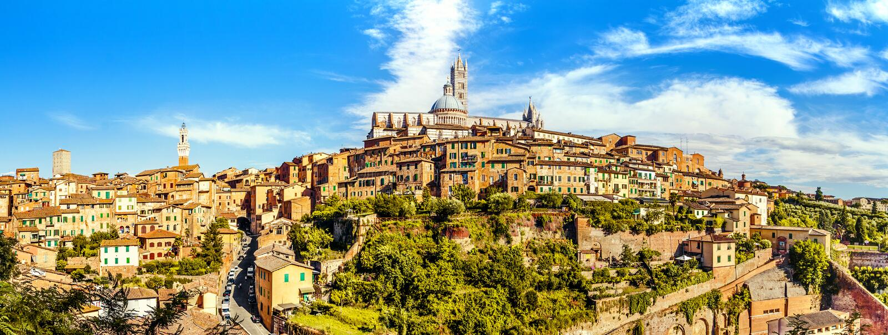 Siena, Toscânia, Italy imagens de stock