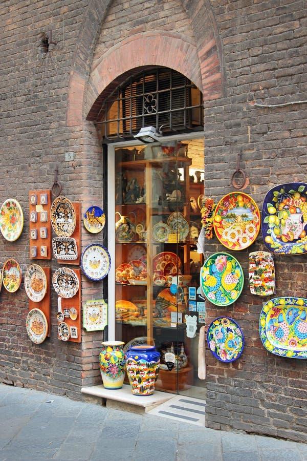Siena, Toscânia, Italy foto de stock