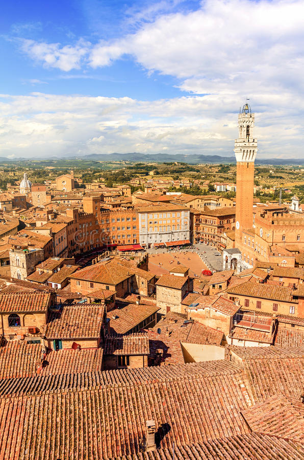 Siena, Toscana, Italia foto de archivo