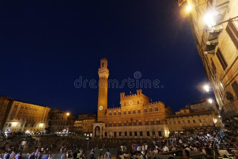 Siena, Toscanië, Italië stock afbeelding