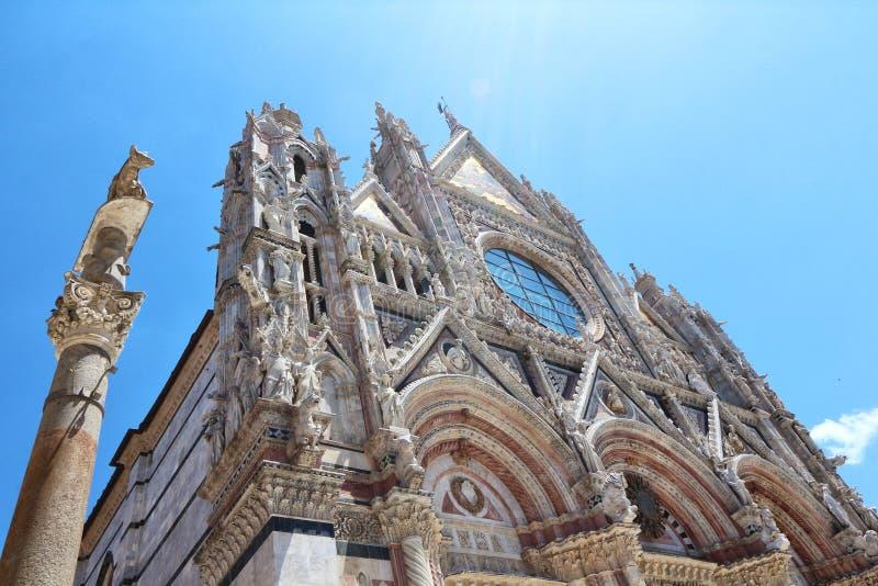 Siena, Toscanië, Italië royalty-vrije stock afbeeldingen