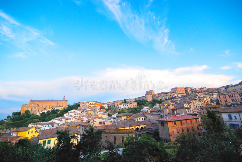 Siena, Toskana stockbild
