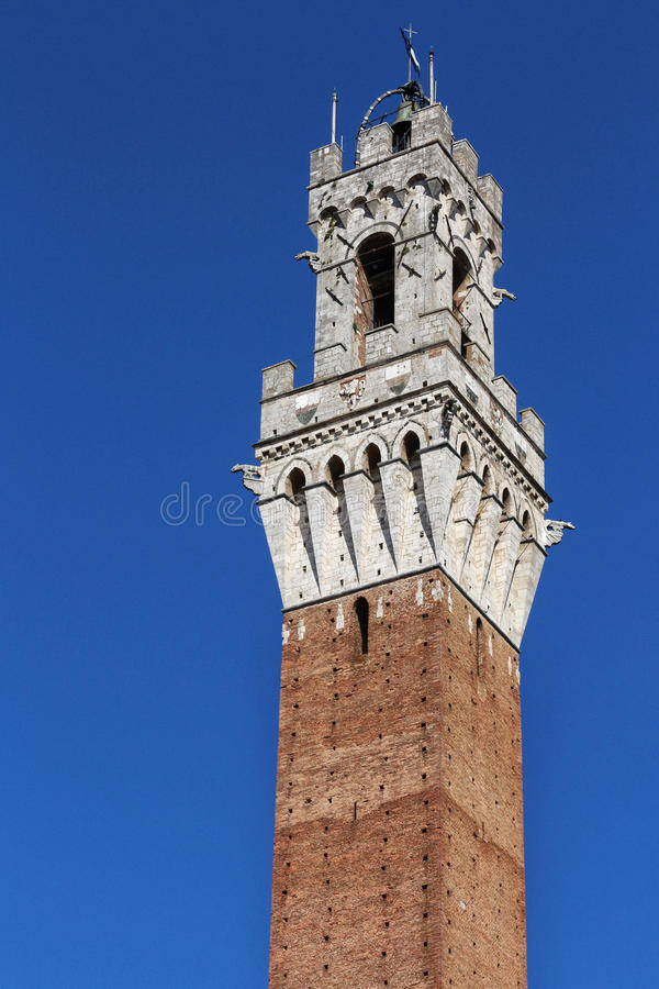 Siena, Tuscany, Italy. Famous tourism places of the city royalty free stock photography