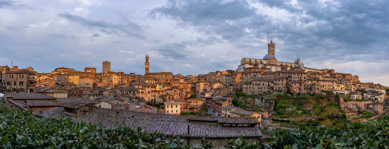 Siena, Tuscany - Italy stock images