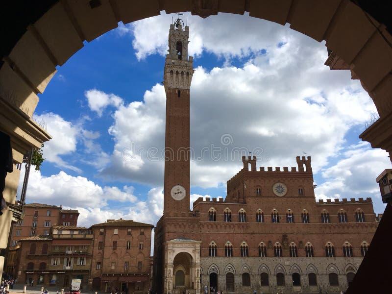 Sienna Ιταλία στοκ φωτογραφία με δικαίωμα ελεύθερης χρήσης