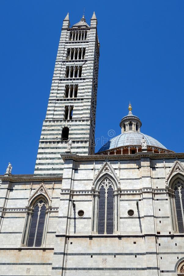 Sienna Cathedral, Italie photographie stock