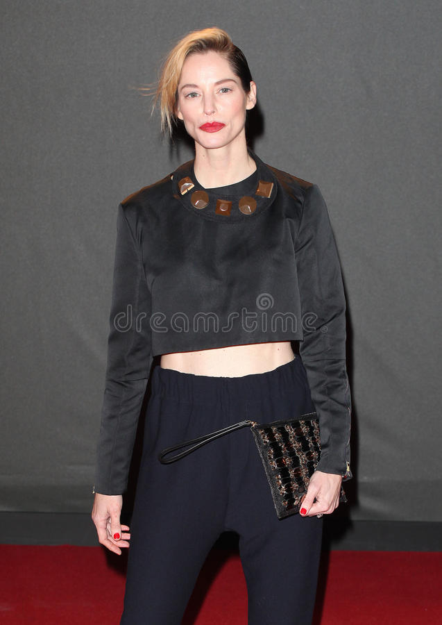 Sienna Guillory. Arriving for the 2013 British Fashion Awards, at The London Coliseum, London. 02/12/2013 Picture by: Alexandra Glen / Featureflash stock photography