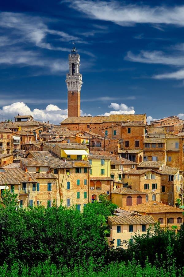 Sienna Italy stock foto