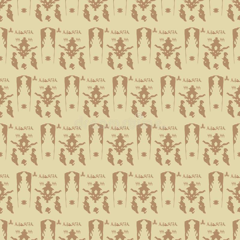 Sier Arabisch naadloos patroon vector illustratie