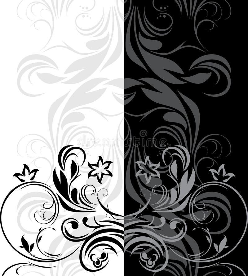 Sier grenzen voor decor vector illustratie