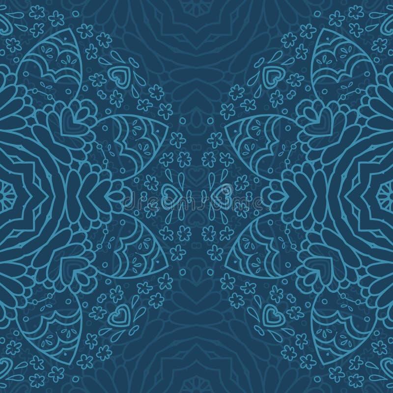 Sier half rond kantpatroon, cirkelachtergrond, die met de hand gemaakt kant, kanten arabesqueontwerpen haken royalty-vrije illustratie