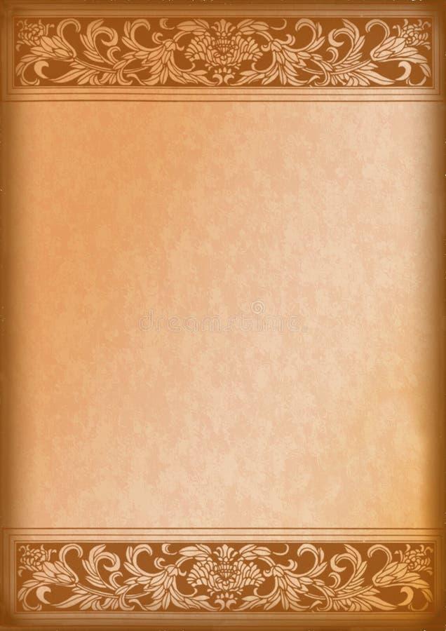 Sier houten achtergrond stock fotografie