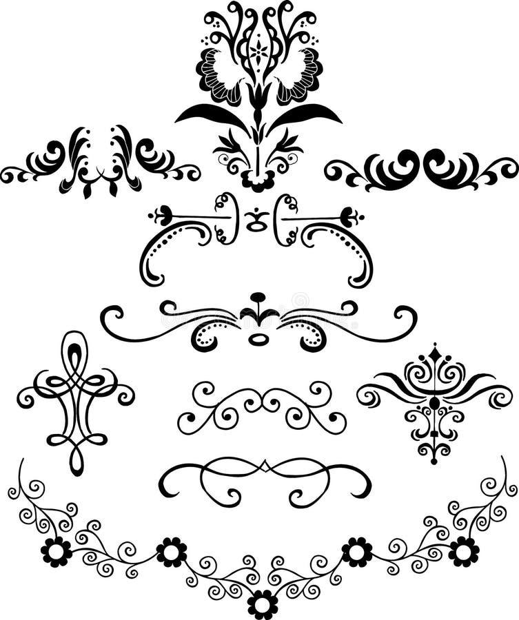 Sier Illustraties royalty-vrije illustratie