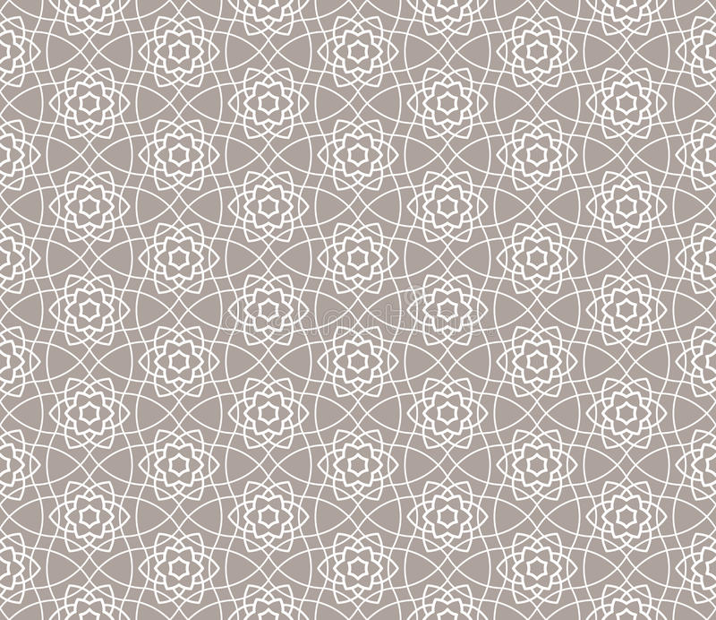 Sier naadloos patroon stock illustratie