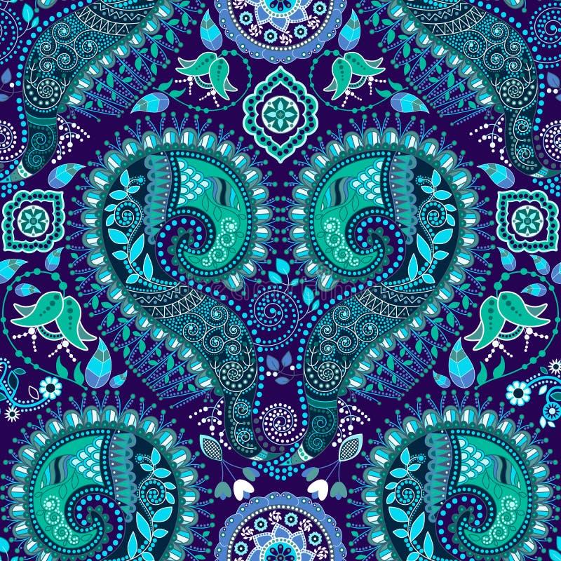 Sier naadloos patroon vector illustratie