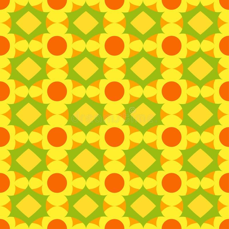 Sier naadloos patroon Het kan voor prestaties van het ontwerpwerk noodzakelijk zijn vector illustratie