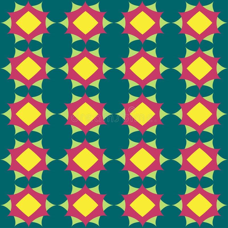 Sier naadloos patroon Het kan voor prestaties van het ontwerpwerk noodzakelijk zijn royalty-vrije illustratie