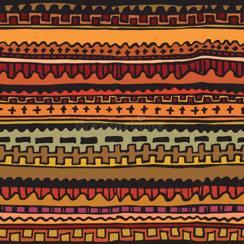 Sier naadloos patroon voor uw ontwerp royalty-vrije illustratie