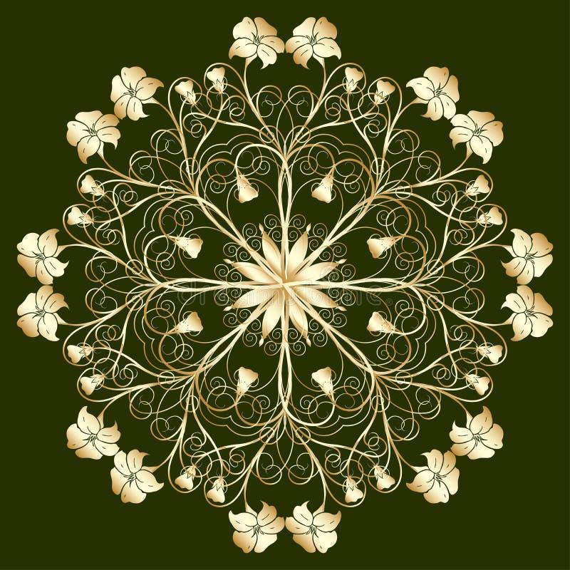 Sier ontwerp, vector royalty-vrije illustratie