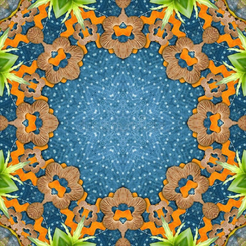 Sier rond patroon vector illustratie