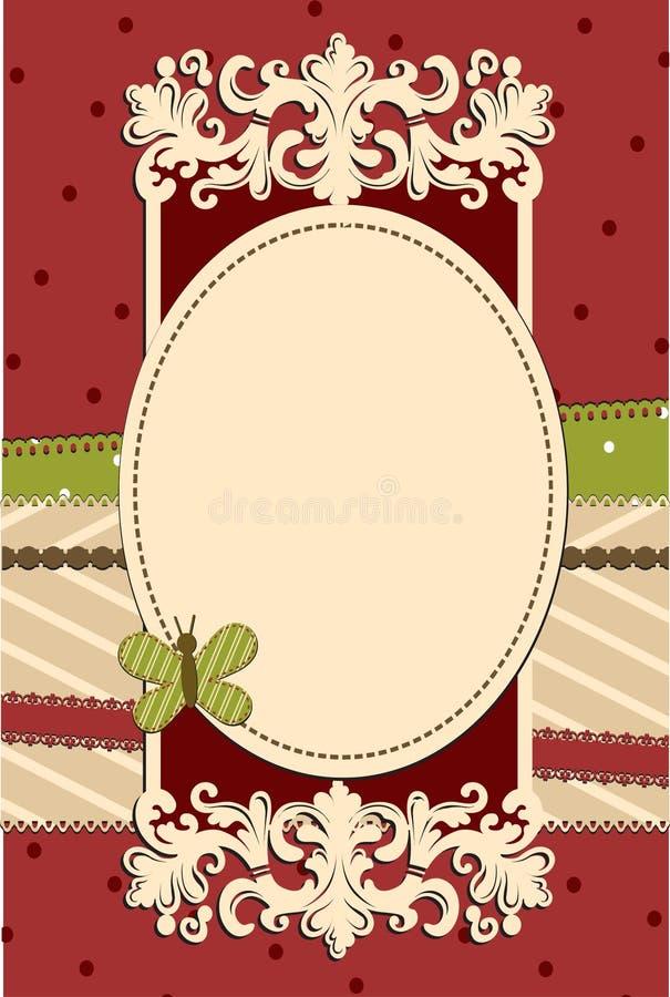 Download Sier Vlinder Backgroung Met Vlinder Stock Illustratie - Illustratie bestaande uit vlinder, kromme: 29505916