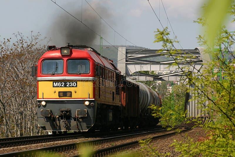 siergiej pociąg towarowy zdjęcia stock