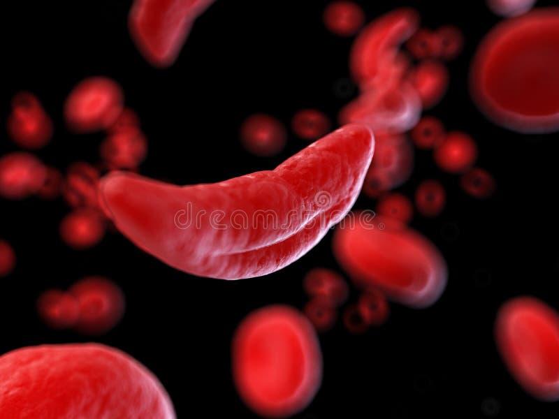 Sierp komórki ilustracja wektor
