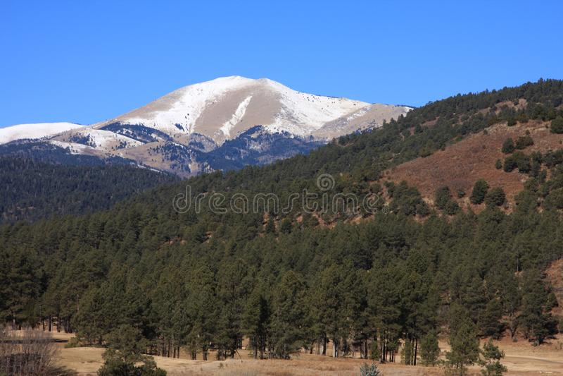 Sierra BLANCA fotografie stock