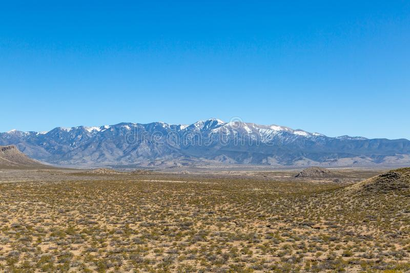 Sierra Blanca Mountains, New Mexico royalty free stock images
