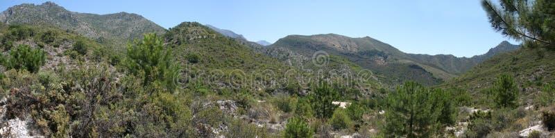 Sierra de Almijara στοκ εικόνες