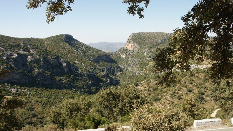 Sierra de Grazalema royalty free stock photo