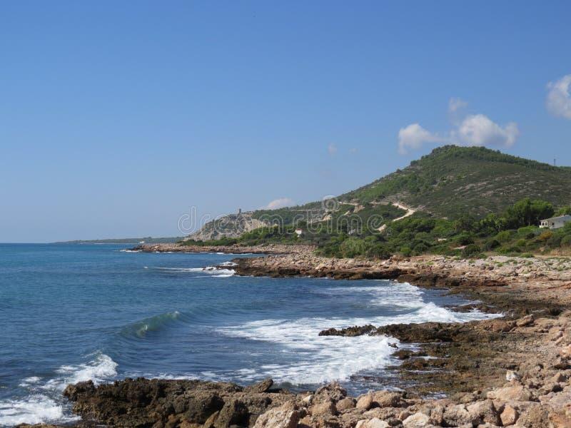 Download Sierra De Irta, Peniscola, Spain Stock Photo - Image of view, rocks: 39515360