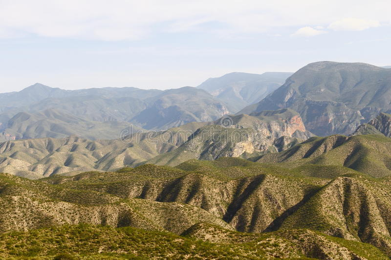 Sierra gorda I. Landscape of the natural national park of sierra gorda, located in the mexican state of queretaro royalty free stock image