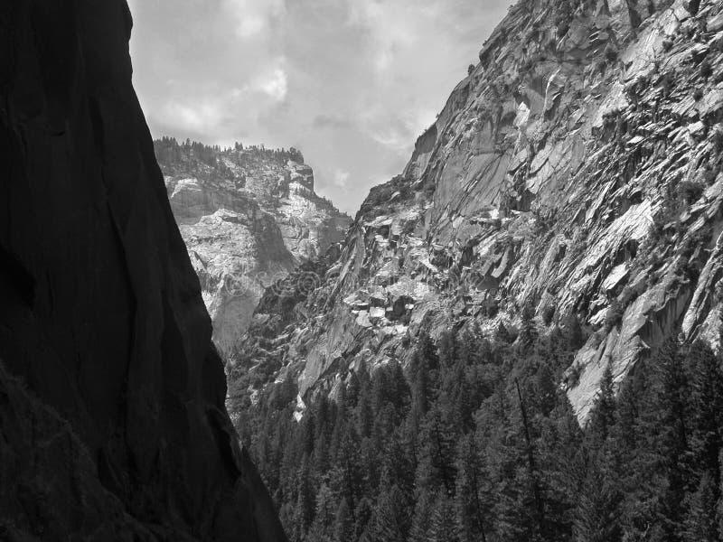 Sierra granit de B/W photo libre de droits