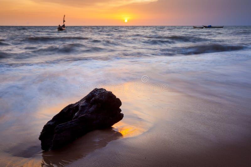 Sierra Leone, Africa occidentale, le spiagge di Yongoro immagine stock
