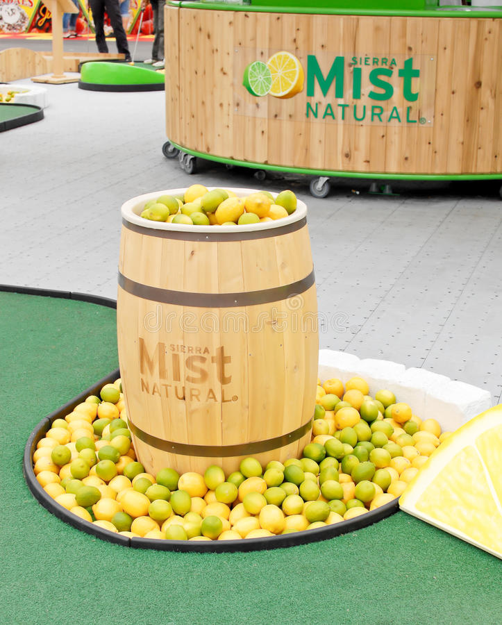 Download Sierra Mist Sponsor Event editorial photo. Image of advertisement - 21251786