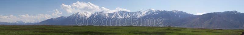 Sierra montagne di Nevada in valle di Carson fotografia stock