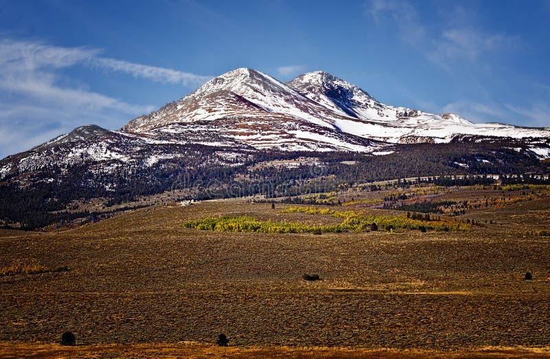 Sierra montagnes de Nevada, la Californie photographie stock libre de droits