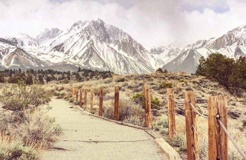 Sierra Nevada fotografía de archivo libre de regalías