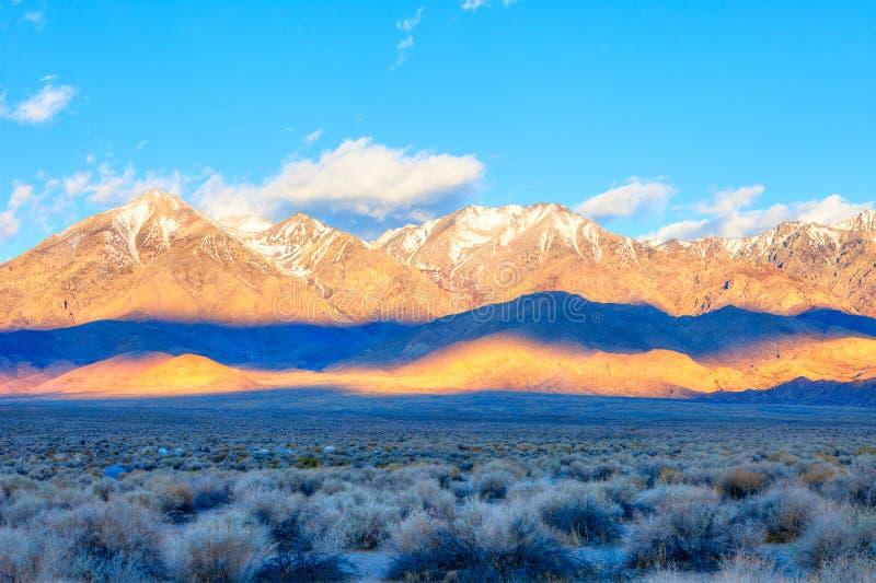 Sierra Nevada photographie stock libre de droits