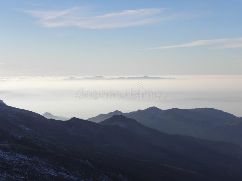 Sierra Nevada fotografía de archivo