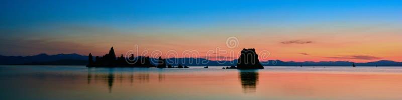 Mono lake sunrise. royalty free stock photography