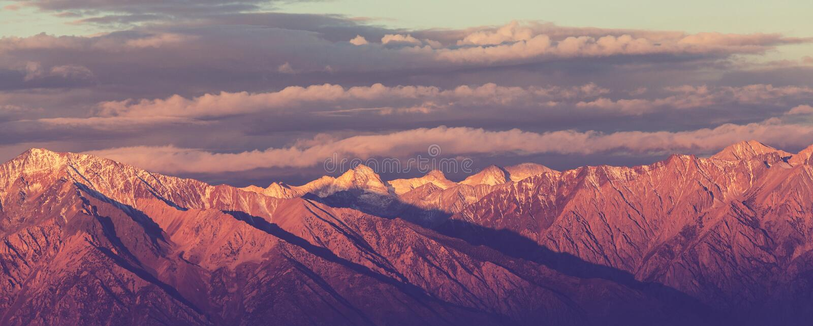 Sierra Nevada. Mountains royalty free stock images